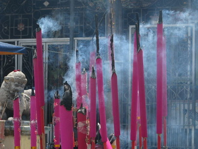 Put out Those Joss Sticks — Chromatography Goes Incense