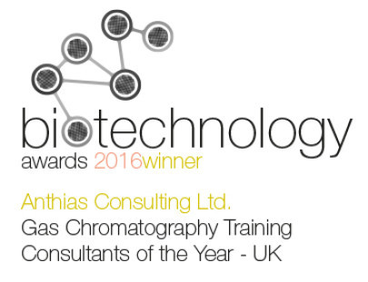 Anthias Wins Gas Chromatography Training Consultants of the Year